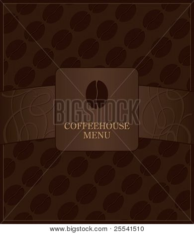 Coffeehouse menu design