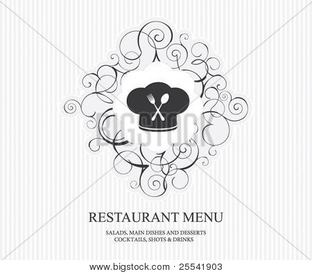 Restaurant menu concept design
