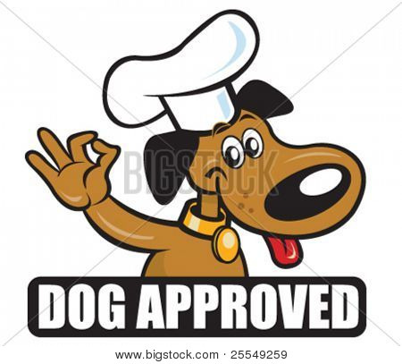 Dog Approved Icon version Chef