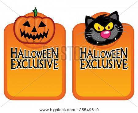 Halloween Exclusive Character Labels