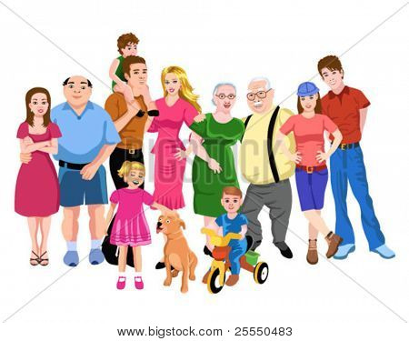 große Familie