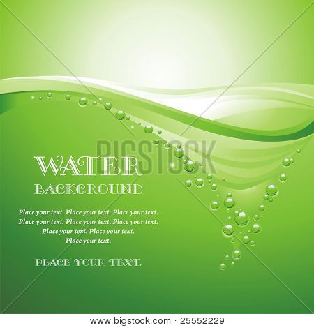 Water background (vector illustration)
