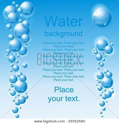 Water. (vector illustration)