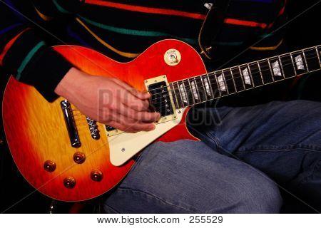 Strumming Electric Guitar