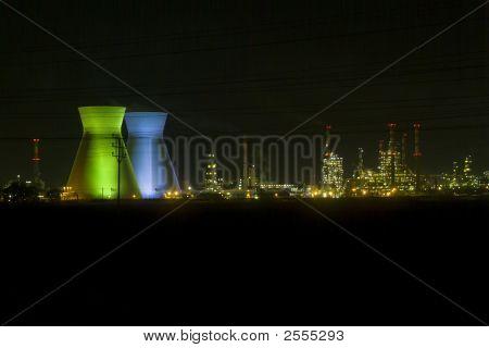 Haifa Israel Oil Refinery