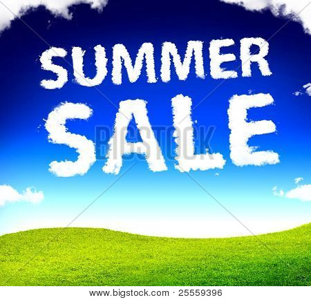 Summer sale clouds