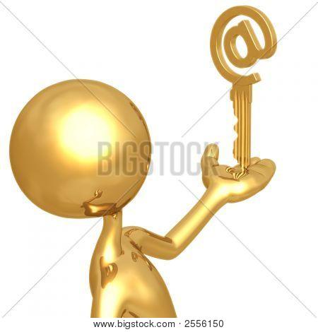 E-Mail Security Golden Ampersat Key