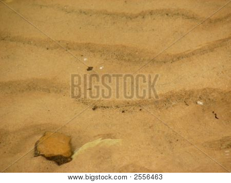 Sand And Stone Background