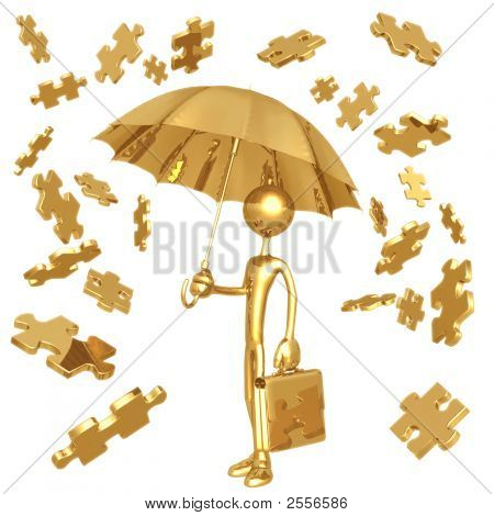 Raining Puzzle Pieces