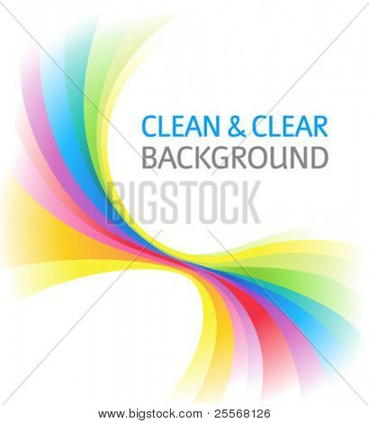 Abstract Rainbow Background