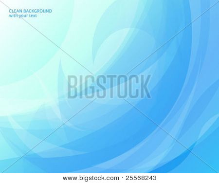 Abstract aqua blue background