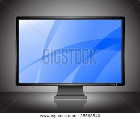 Perfect vector plasma LCD HDTV display