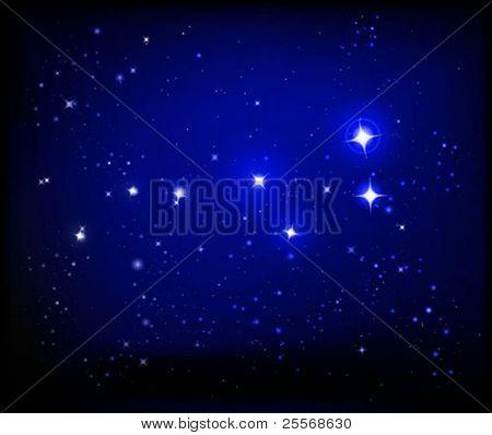 vector de la galaxia