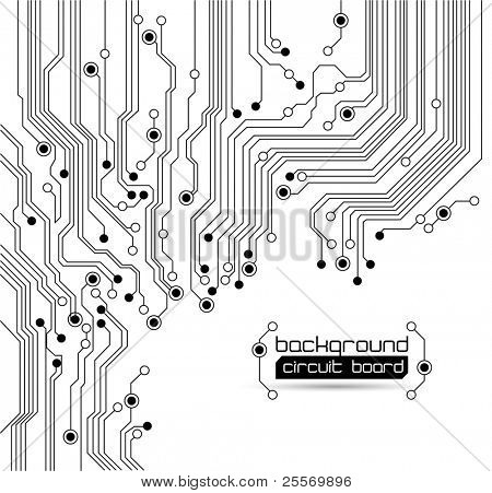 Circuit board background - Raster version texture