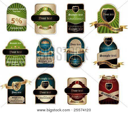 label vintage