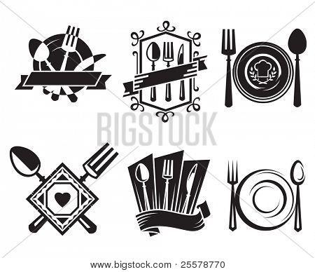 iconos de restaurante