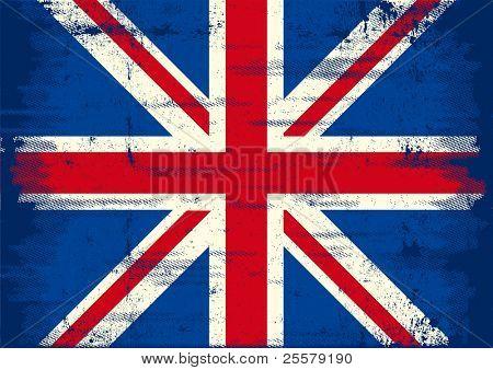 UK Grunge Flag. eine uk Flag Whith eine Textur für Sie.