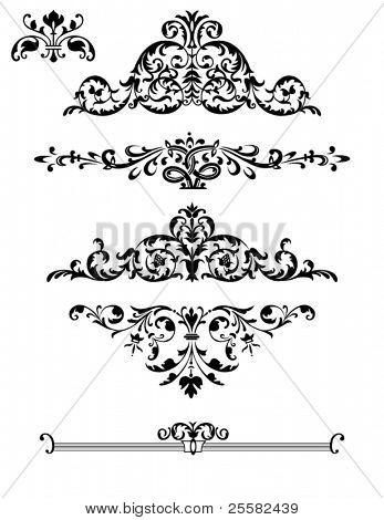 Borders, Ornaments and Design Elements