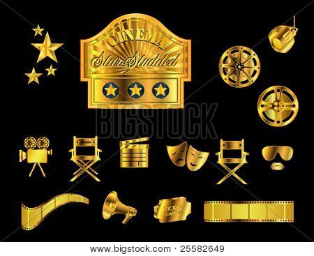 Cinema Icons, Gold
