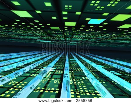 Horizon Perspective Electronic Grid