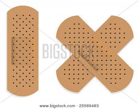 Raster bandages