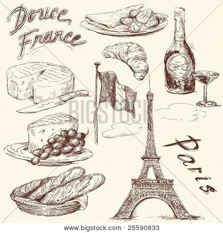 Süßes Frankreich