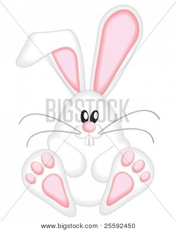 Use for decorating greeting cards or create a gif to attach to easter emails.  Can adjust position of feet and ears and face to suit.
