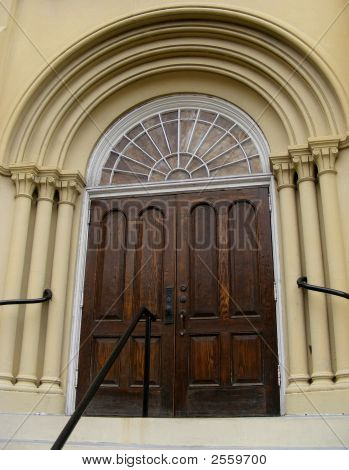 1856 Church Entrance
