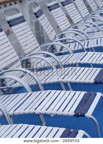 Row Of Lounge Chairs
