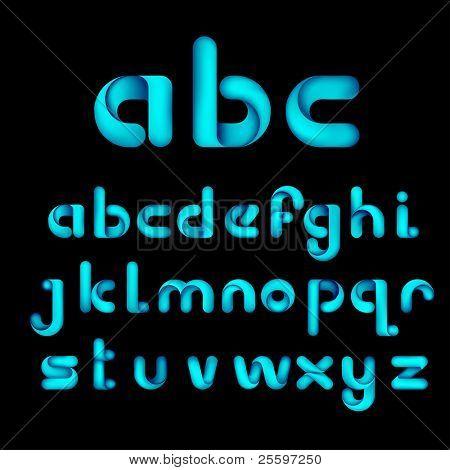 Decorative Origami Alphabet