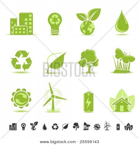 Ecology and environmental icons