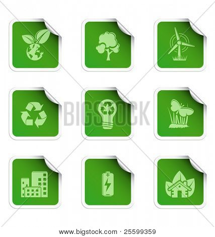 Ecology stickers 2