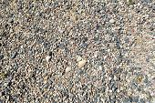 Texture Of Natural Natural Carved Solid Strong Rough Rough Sharp Textured Mineral Gray Brown Stone C poster