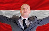 Happy Businessman Because Of Profitable Investment In Austria