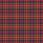 Caledonia Tartan Pattern. Scottish Cage. Scottish Checkered Background. Traditional Scottish Ornamen poster