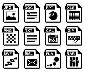 image of png  - File type icons - JPG