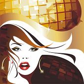 pic of night-club  - Disco girl - JPG