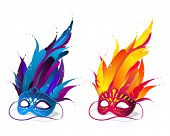 foto of brazilian carnival  - Party Masks - JPG