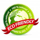 Eco friendly natural sign