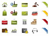 foto of trash truck  - Shopping and auctions icons - JPG
