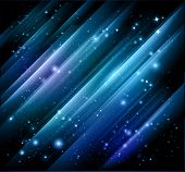 stock photo of north star  - vector abstract lights  background - JPG