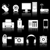 pic of computer technology  - Computers and electronics icons - JPG