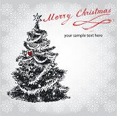 foto of merry christmas text  - merry christmas - JPG