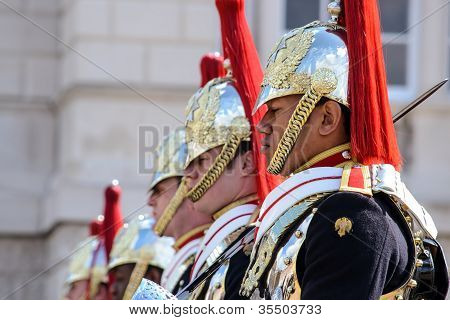 Household Cavalry at Horse Guards