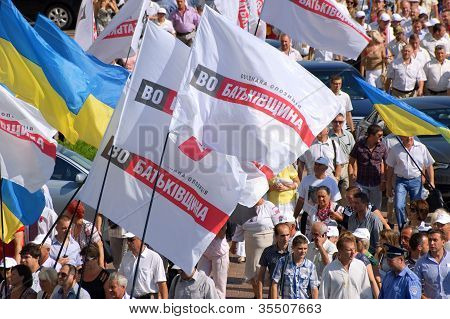 United Ukrainian opposition