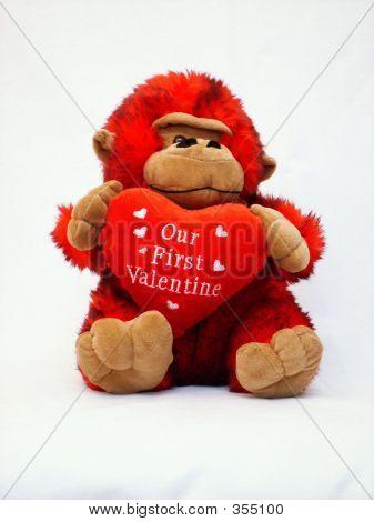 Our First Valentine Gorilla