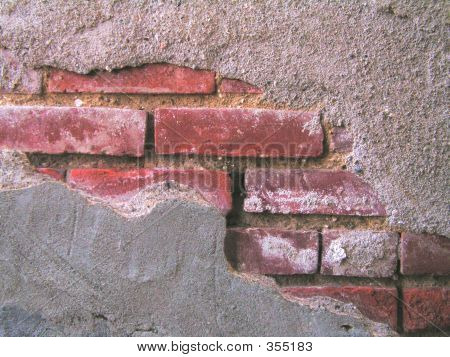 Wall With Various Textures