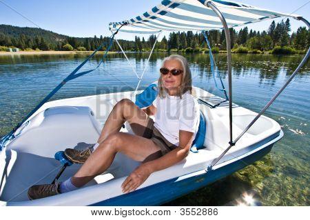 Woman Boating
