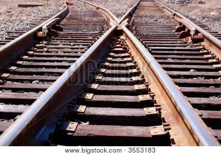 Railroad Train Tracks