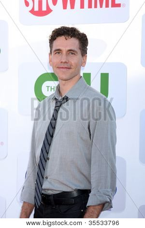 LOS ANGELES - JUL 29:  Brian Dietzen arrives at the CBS, CW, and Showtime 2012 Summer TCA party at Beverly Hilton Hotel Adjacent Parking Lot on July 29, 2012 in Beverly Hills, CA